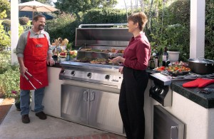 Built-In Gas Grills by Solaire