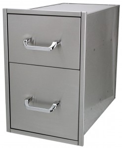 Solaire Gas Grill Drawers