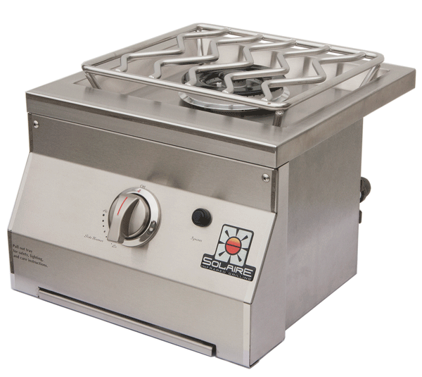 Solaire Gas Grills Single Side Burner