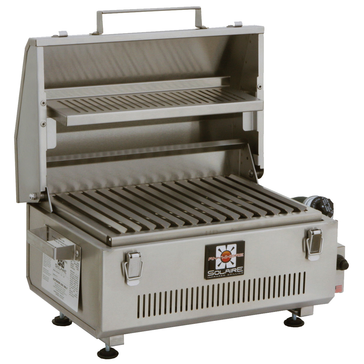 Portable Gas Grill And Griddle ~ Portable infrared grill solaire gas