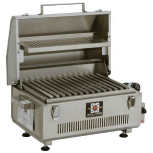 Anywhere Portable Grill with Warming Rack