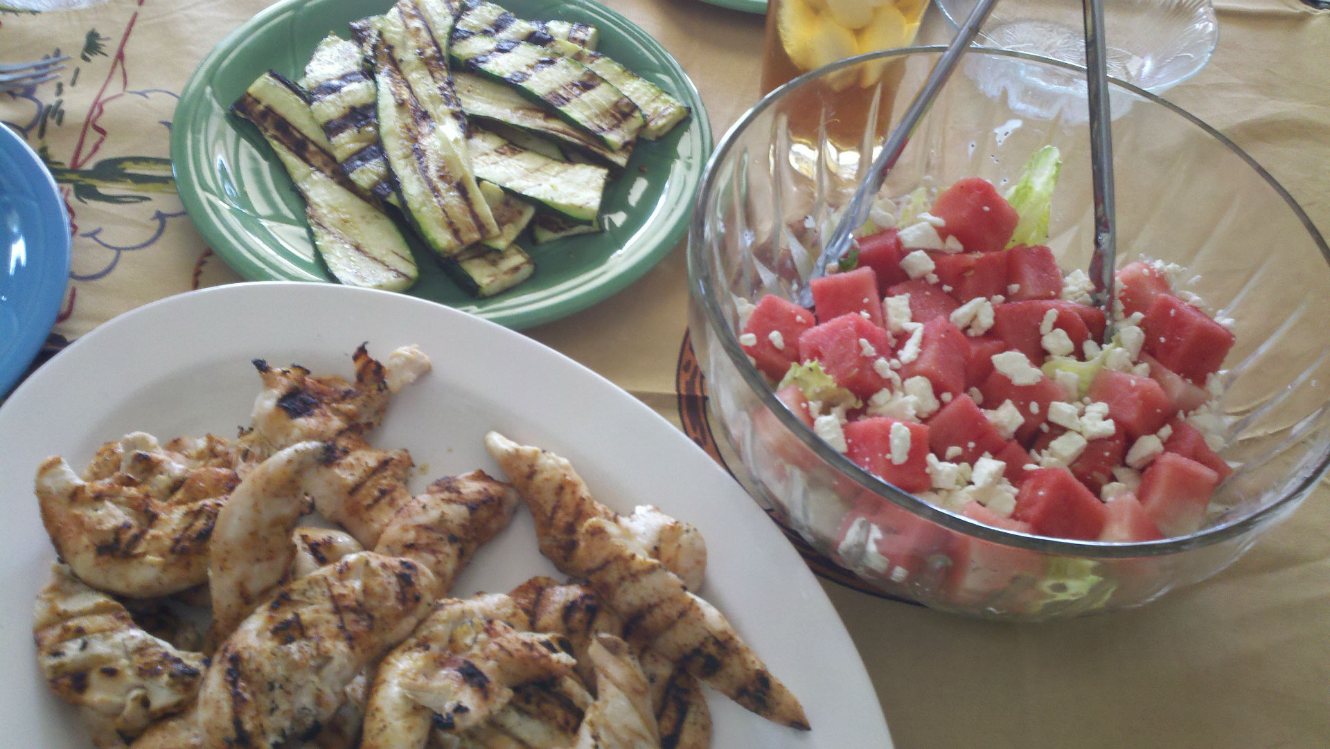 chicken-tenders_zucchini_watermelon-salad-w1920