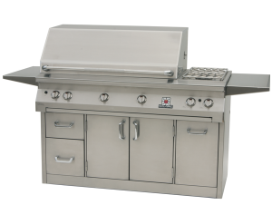 56″ Solaire Infrared Grill (42″ Grill with Dual Side Burners) (AGBQ-56)