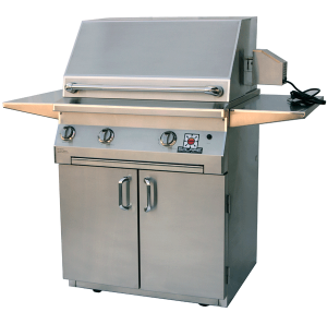 Solaire AGBQ-30C – with rotiss and Standard Cart