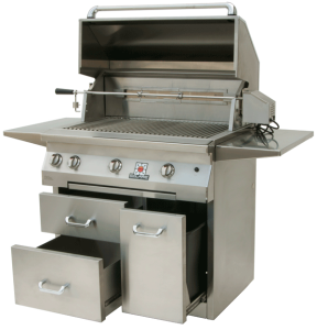 36″ Solaire Infrared Grill-- Cart Model