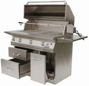 42″ Solaire Infrared Grill-- Cart Model