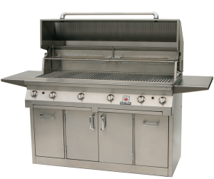 56T″ Solaire Infrared Grill on Premium Cart
