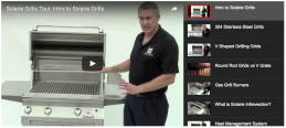 The Fireplace Professionals Virtual-Tour Solaire Infrared Grill