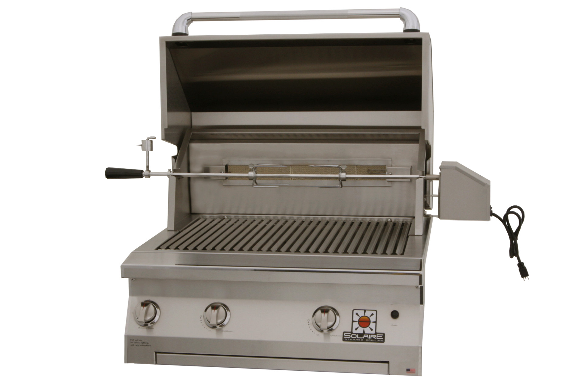 Solaire AGBQ-30 – with rotiss